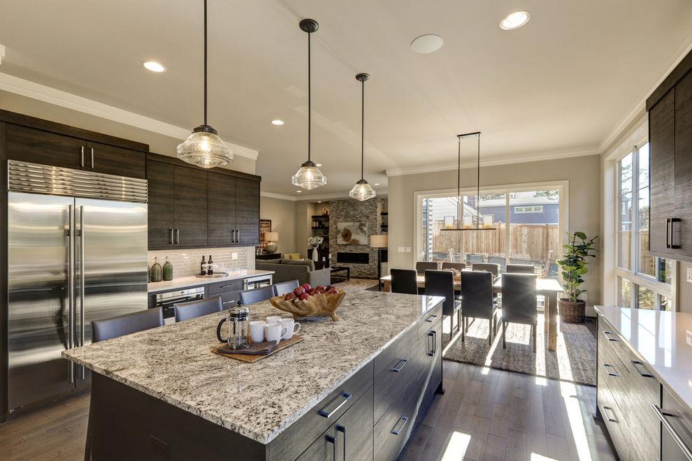 Kitchen with quartz countertops - 7 Best Kitchen Countertop Trends